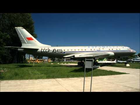 Soviet bombers and passenger planes