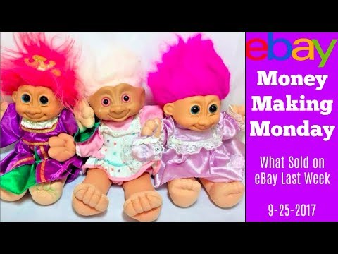 What Sold on eBay Money Making Monday 9 25 17