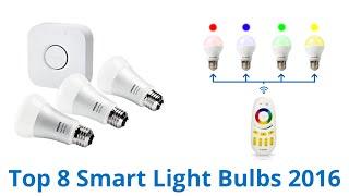 8 best smart light bulbs 2016