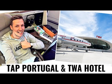 Review: TAP AIR PORTUGAL's NEW A330NEO In BUSINESS CLASS & TWA HOTEL