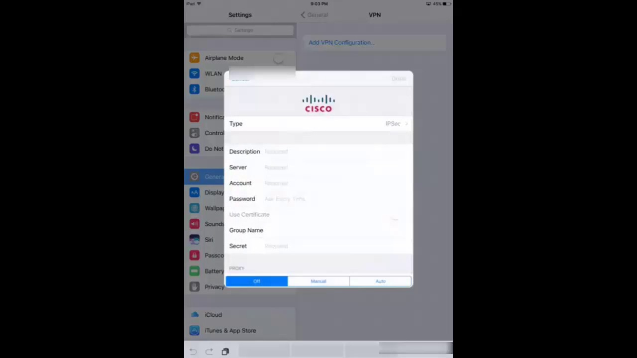 How to Set up VPN Connection for iOS (iPhone & iPad)