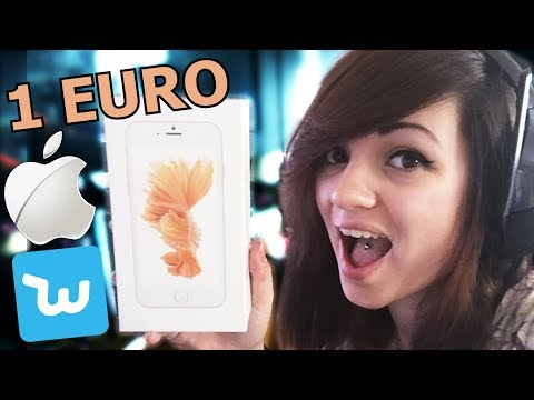 J'AI ACHETÉ UN IPHONE A 1 EURO SUR WISH ! 📱😀