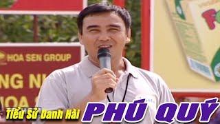Tiểu sử Danh Hài Phú Quý : Nụ Cười trong Nước Mắt - Vượt Lên Chính Mình MC Quyền Linh