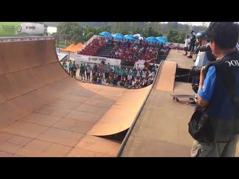 Daniel Cuervo, primer dominicano pro-skater (skateboard)