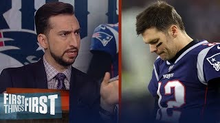 The New England Patriots have been disrespectful to Brady - Nick Wright | NFL | FIRST THINGS FIRST