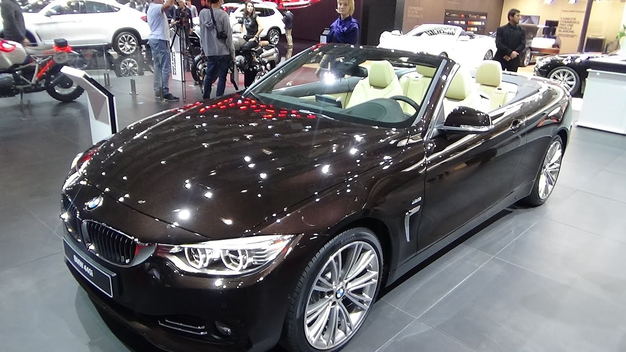 2017 bmw 440i cabriolet exterior and interior paris. Black Bedroom Furniture Sets. Home Design Ideas