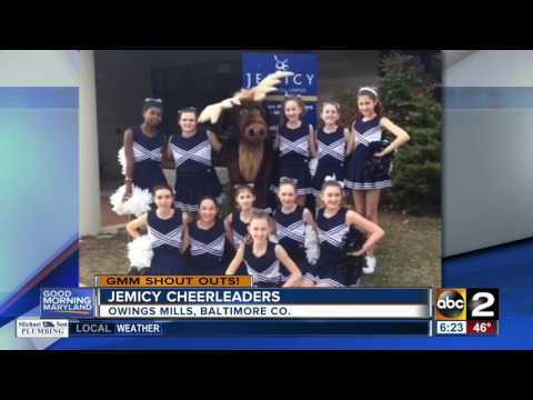 A good morning shout-out from the Jemicy School cheerleaders