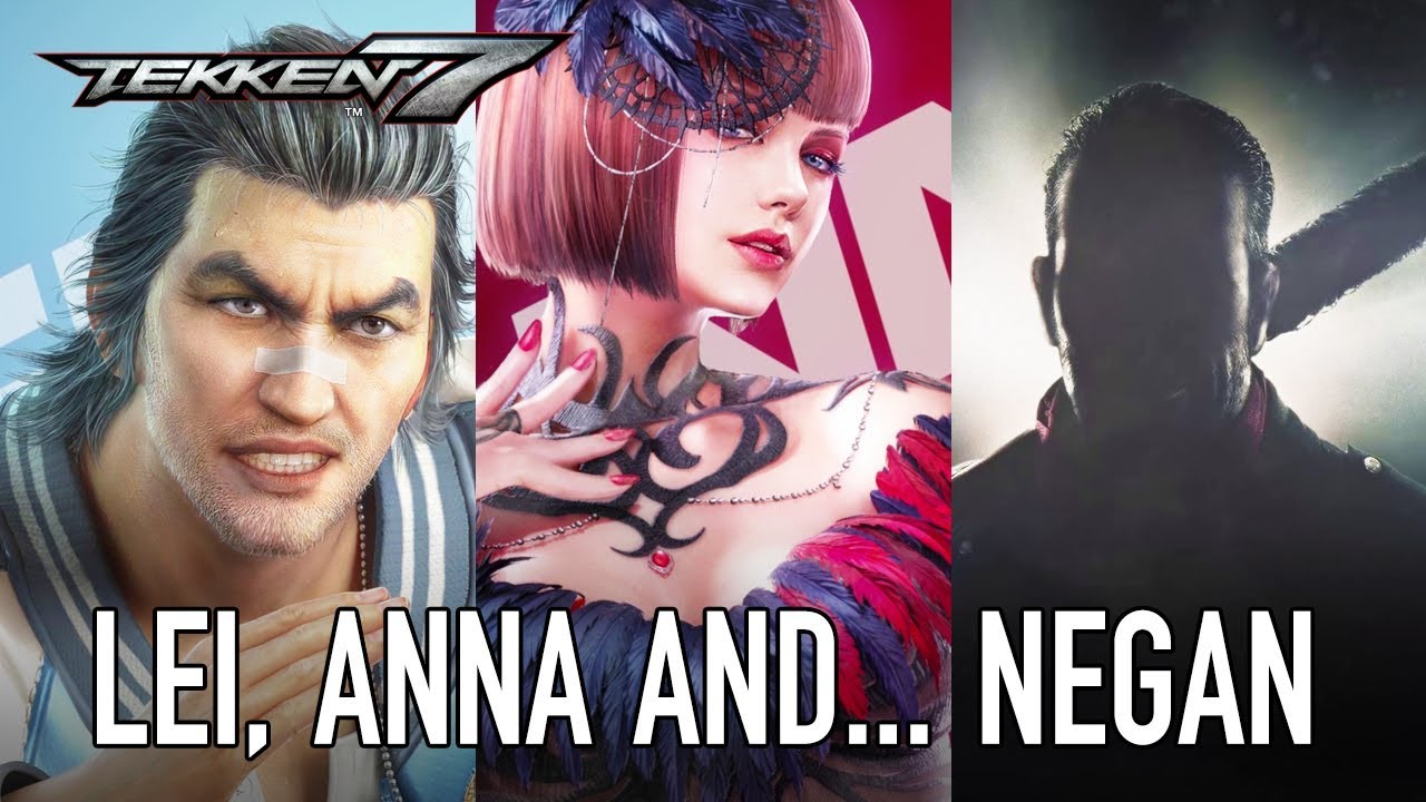 Tekken 7 - PS4/XB1/PC - Lei, Anna and    Negan from The Walking Dead  (Season Pass 2 reveal)