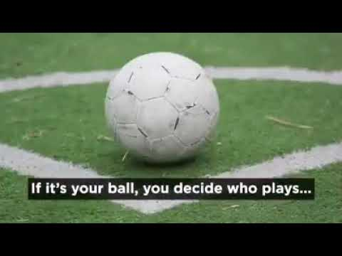 Remember football as a kid?