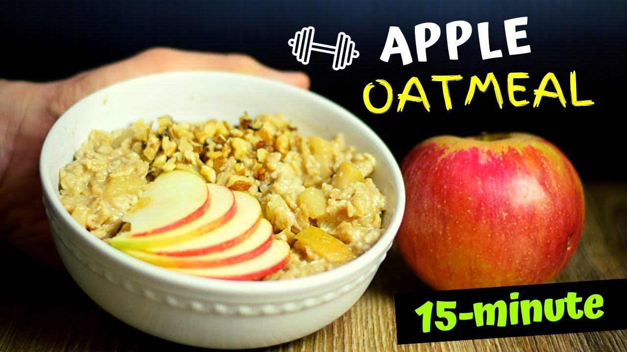 15-Minute Healthy Apple Oatmeal