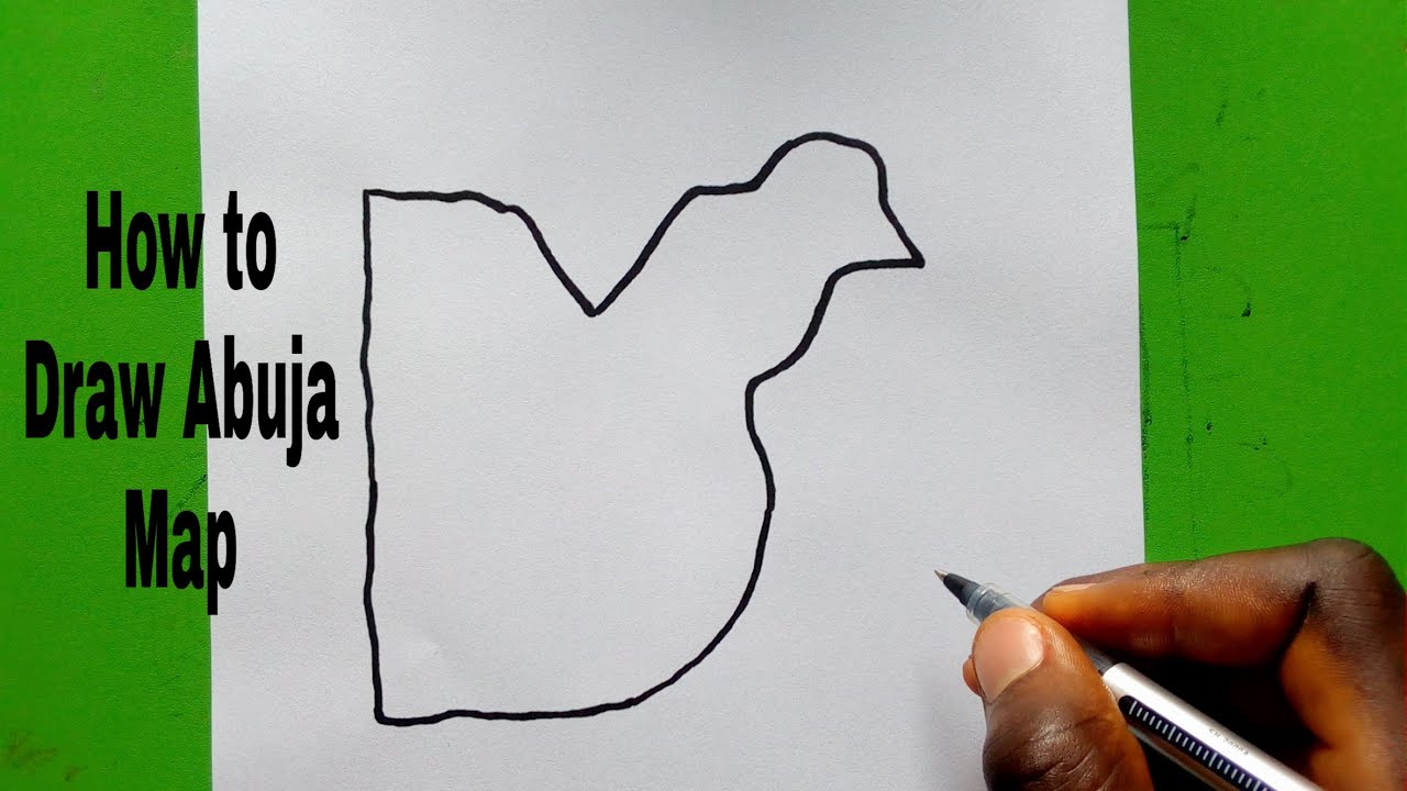 Download How To Draw Map Of Abuja ( Nigeria)