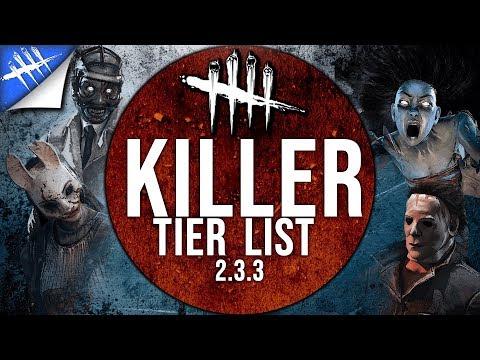 Killer Tier List