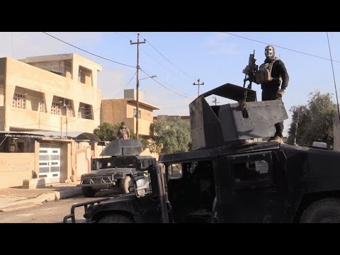 Exclusive: Iraq's 'Golden Division' troops in the battle for Mosul
