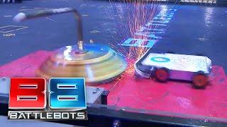 BattleBots Basement - DUCK! vs. Gigabyte - Unseen Grudge Match from BattleBots 2018
