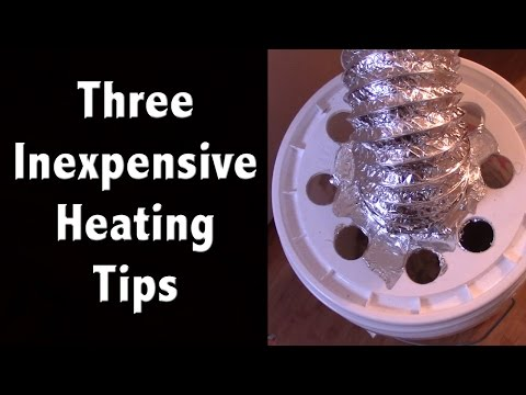 3 Inexpensive Heating Tips: Save Money on your Power Bill