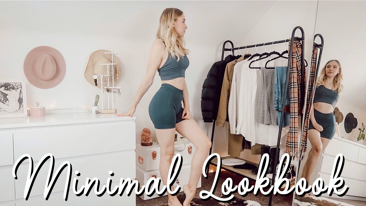 [VIDEO] - 12 ITEMS 6 LOOKS MINIMAL AUTUMN LOOKBOOK | REALISTIC STUDENT LIFESTYLE OUTFITS 3