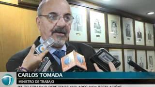 Tomada firmó convenio de teletrabajo con la empresa Dell