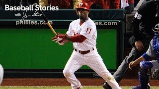 Jimmy Rollins Relives His Walk-Off Double in Game 4 of the 2009 NLCS | Baseball Stories