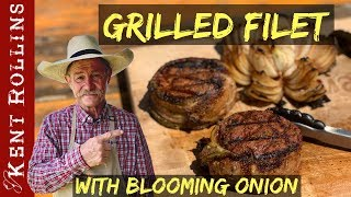 How to Grill a Filet - Bacon Wrapped Green Chile Filet
