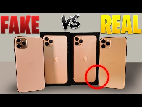 IPhone 11 Pro Max (FAKE Vs REAL) Esto Es Enserio???