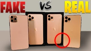 iPhone 11 Pro Max (FAKE vs REAL) esto es Enserio???