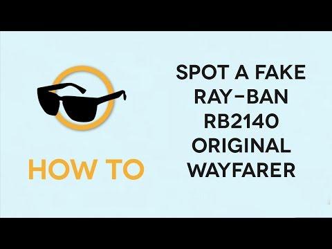 fake new wayfarer  Vote No on : How to Spot Fake Rayban Clubma