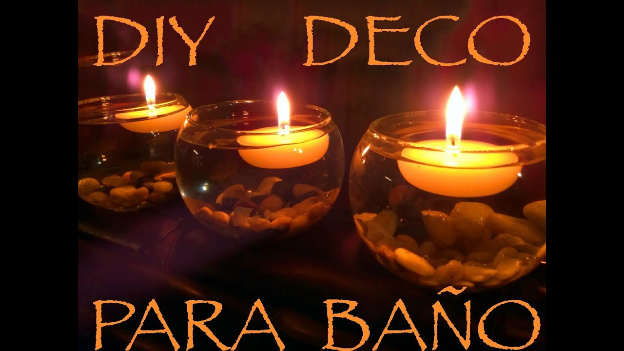 Diy decoracion para ba o youtube - Decoracion de bano ...