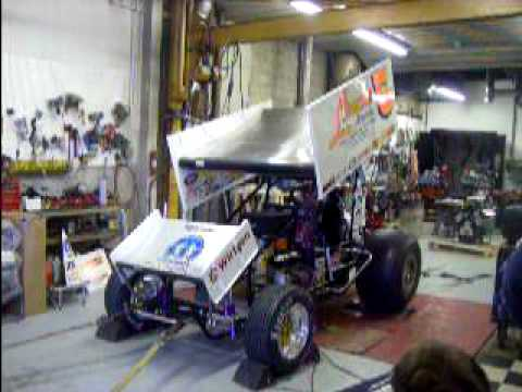 5 410 on sprint car dyno youtube for Garage sprint auto stains