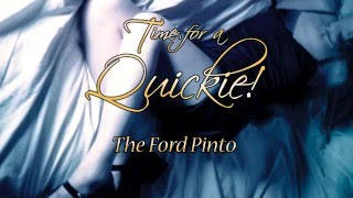Quickie: The Ford Pinto