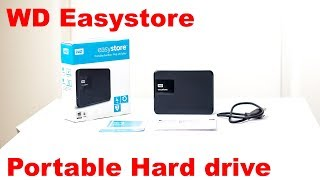 WD EasyStore 4TB Unboxing 2017 4K