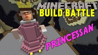 Minecraft | DEN LILLA PRINCESSAN | Team Build Battle Minigame på Svenska