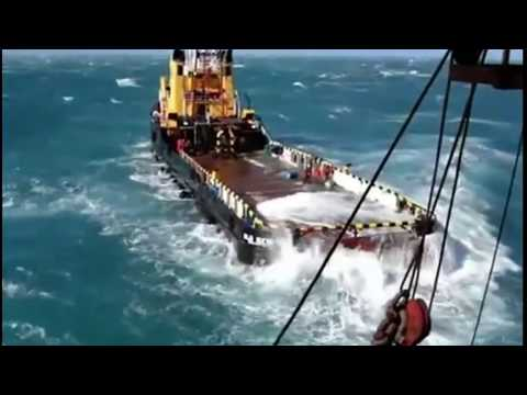 AHTS Vessel In High Sea