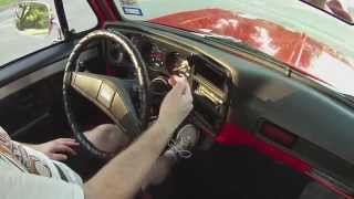 HOW TO DRIVE 3-ON-THE-TREE TRANSMISSION | 1977 Chevy C10 3 Speed Column Shift