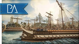Carthage Under Siege By Land and Sea! - Total War: Rome 2