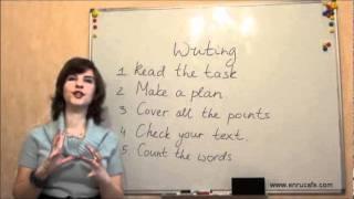 Письмо (ВНО, английский): В день теста, видео урок