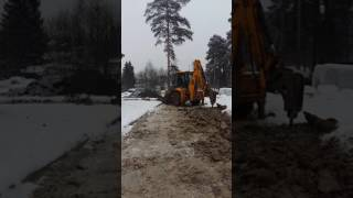 видео аренда экскаватора погрузчика