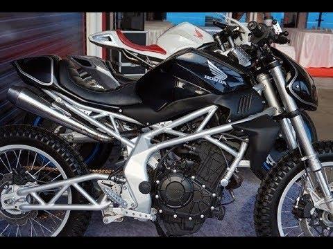 Modifikasi All New Honda Cbr250rr Custom Scrambler Motorcycle Youtube