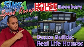"Sims4 House Rules TV Builds: 1: ""Rosebery"""