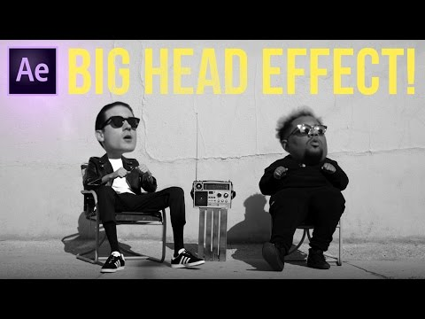How to Create a Big Head Bobblehead Effect in Adobe After Effects (CC 2017 Tutorial)