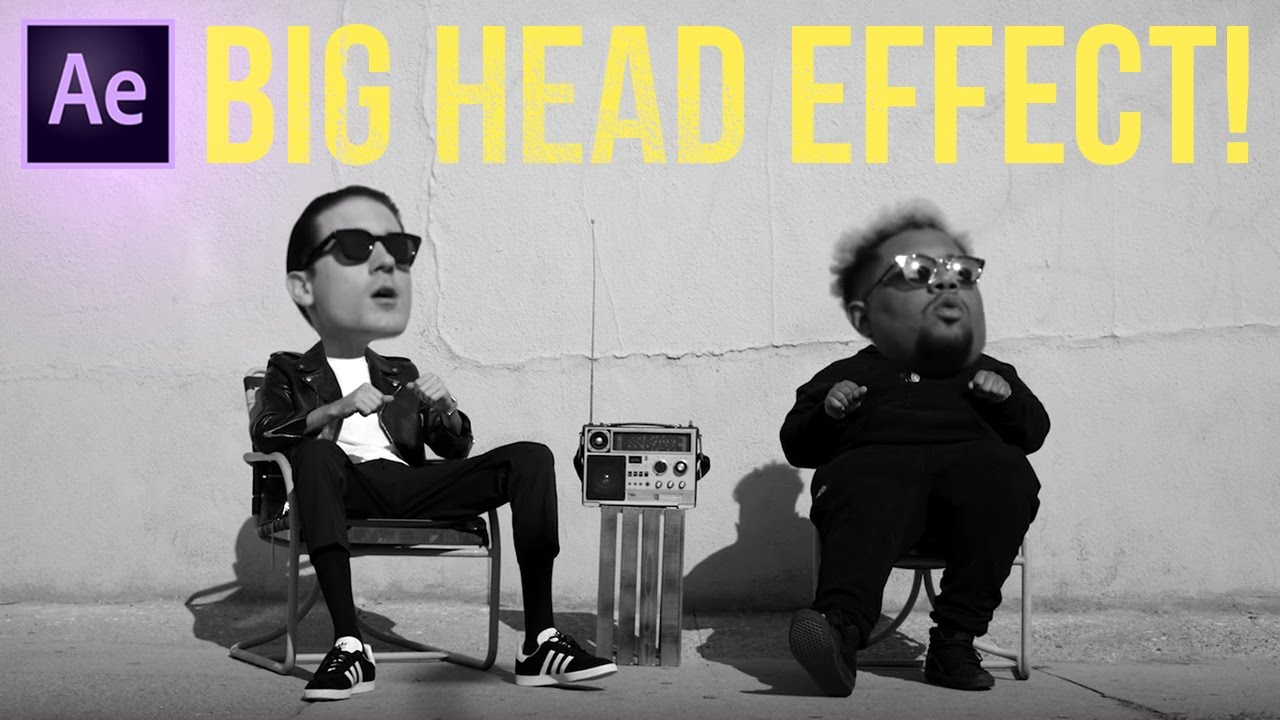 How To Create A Big Head Bobblehead Effect In Adobe After