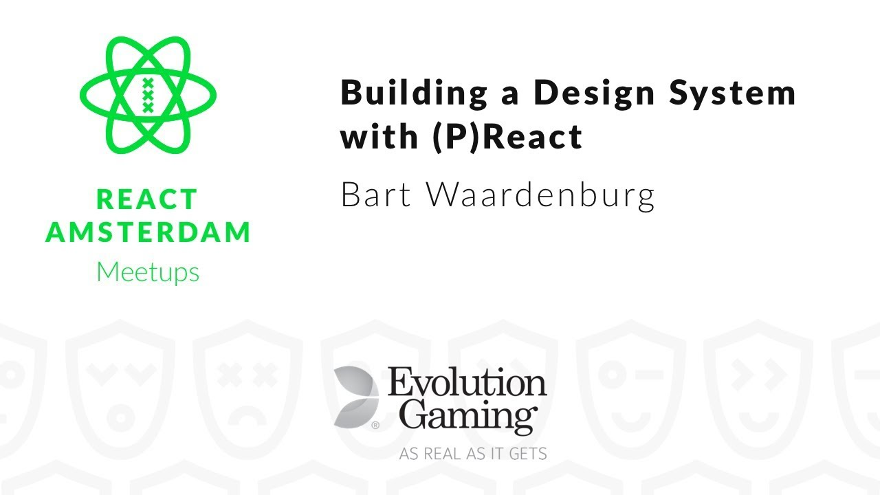 Building a design system with (p)react – Bart Waardenburg