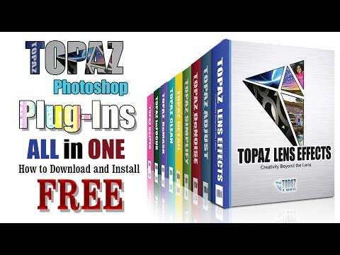 Topaz Labs Photoshop Plugins Bundle 32 Bit & 64 Bit|How To Download And Install|Hindi \Urdu