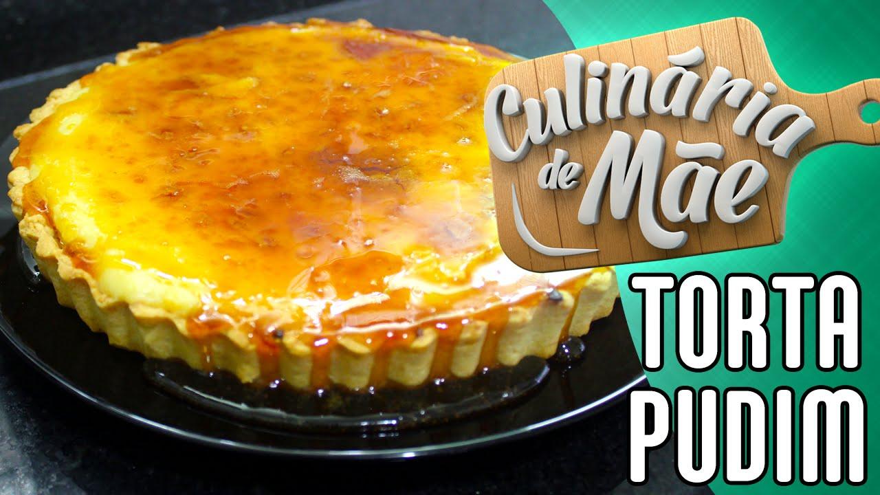 Resultado de imagem para imagens Culinária de Mãe #41- Torta Pudim