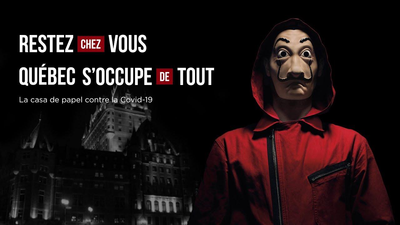 La CASA DE PAPEL contre la COVID-19 // Court métrage