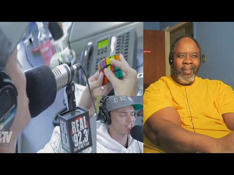 Dad Reacts to Rapper Logic Solves A Rubiks Cube During Freestyle!