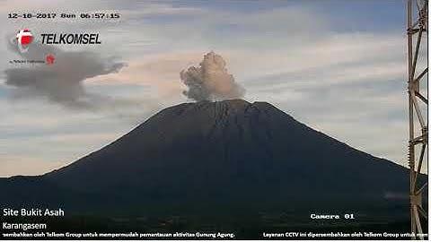Gunung Agung Bali  -  Live-Cam