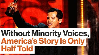 John Leguizamo:  Minorities Need Access To Jobs That Get Their Stories Told