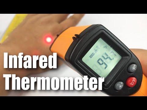 TopOne Digital Laser IR Infrared Handheld Temperature Meter Thermometer Review