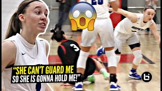"""She CAN'T Guard Me, So She's Holding Me"" Paige Bueckers Gets HEATED & BREAKS Defender's ANKLES!!"