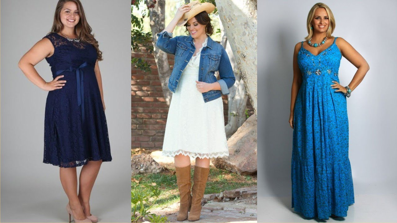 Cool Plus Size Western Skirts And Dresses For Great Time